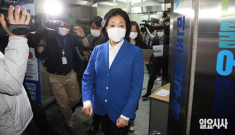 박영선 전 중소벤처기업부 장관 ⓒ박성원 기자
