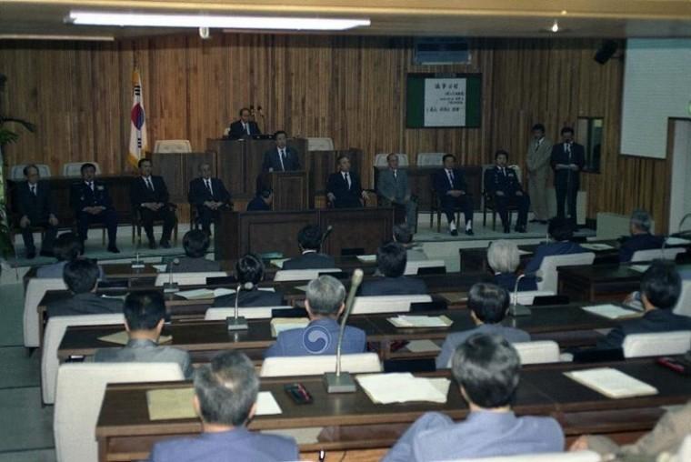 지방의회 기초 의원 개원식 ⓒ국가기록원